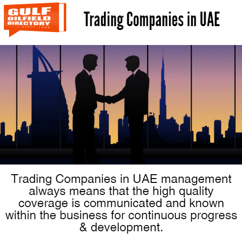 Hire one of the best trading companies in UAE